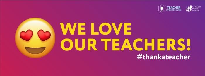 Teachers & Staff Appreciation Week Info! May 6th - 10th